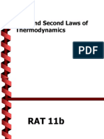 First and Second Law of Thermodynamics