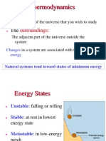 Basic concepts of Thermodynamics