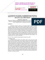 An Overview of Genetic Algorithm Based Optimum Design of an Automotive Composite (E-glass Epoxy and Hm-carbon Epoxy) Drive Shaft