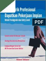 Tips dan Trik Profesional Mencari Kerja