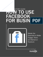 An Introductory Guide to Facebook for Business