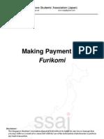 Furikomi Instructions