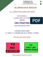 CAMPAÑA DE LIMPIEZA CARTEL