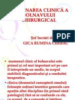 SemChir C00 Examinarea Clinica