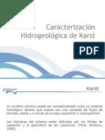 Caracterizacion Hidrogeologica de Karst