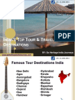 Best Holiday Tourist Destinations of India