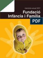 Memòria Fundació Infància i Família 2011