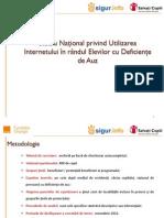 Studiu National privind Utilizarea Internetului in randul Elevilor cu Deficiente de Auz