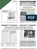 Versión impresa del periódico El mexiquense 17 de diciembre 2012