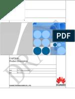 UAP2816 V400R013 Product Description V0.20 _20110325_