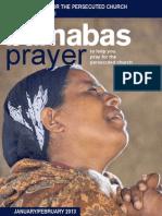 Prayer Diary January/February 2013