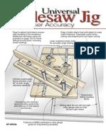 WoodPlans Online - Universal Tablesaw Jig