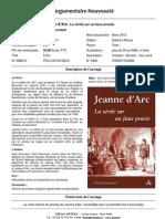 ARTENA Fiche Jeanne dArc