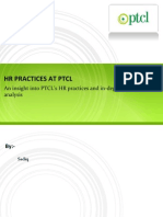 Hr Practices at Ptcl
