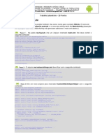 Exercício Android/SQLite
