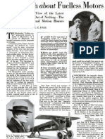 The Truth About Fuelless Motors - July 1928