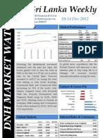 DNH Sri Lanka Weekly 10-14 Dec 2012