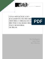 Revista Tritão - Cena Mitológica do Julgamento do Rei Midas - História e Origem do Painel Brutesco em Baixo