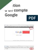Création Google et activation Google+