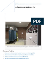 Electrical-Engineering-portal.com-Safety Clearance Recommendations for Transformer
