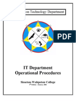 IT Oper Procedure 3rd Edition