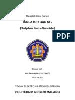 Isolator Gas (SF6)
