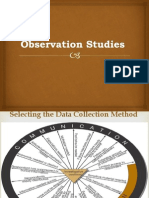 Observation studies
