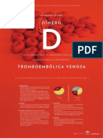 Determinación del Dimero D en el laboratorio de Urgencias como soporte Diagnóstico de la enfermedad Tromboembólica venosa