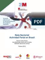 Actividad ferial en Brasil