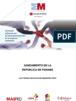 Saneamiento en Panamá