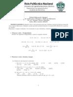 Guía ETS Cálculo Diferencial e Integral  2012