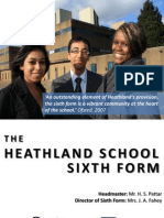 Sixth Form Course Booklet 2013 External