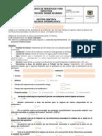 GCF-FO-315-005 Encuesta de Percepcion Para Directivos Estrategia Higiene de Manos