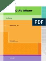 Grass valley INDIGO AV Mixer