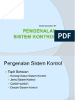 pengenalan sistem kontrol