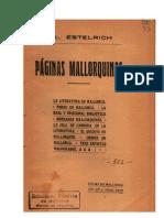 Estelrich Páginas mallorquinas