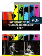 Welcome to Global Readiness Event