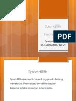 Spondilitis