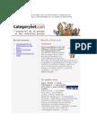 Categornet.com du 4 janvier 2009