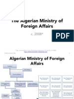 Algerian Ministry of Foreign Affairs
