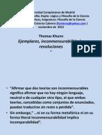 8. T Kuhnn Inconmensurabilidad y Revoluciones