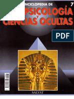 PARAPSICOLOGÍA Y CIENCIAS OCULTAS 7