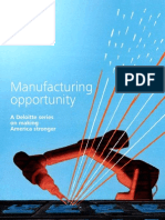 Us Fed Election Series MANUFACTURING 072412, Manufacturing Opportunity""