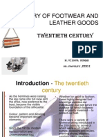 History of Footwear and Leather Goods