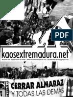 Boletines KaosExtremadura (verano 2008)