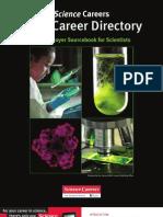 Science Magazine-Career Directory 2012