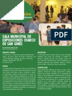 Sala municipal de exposiciones Charco de San Ginés (Arrecife)
