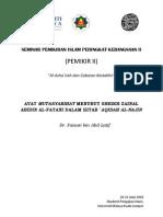 Faizuri_ayat Mutasyabihat Menurut Sheikh Zainal Abidin Al-fatani Dalam Kitab `Aqidah Al-najin[1]