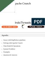 IndicThreads Pune12 Apache Crunch