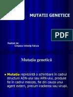 Mutatii genetice1